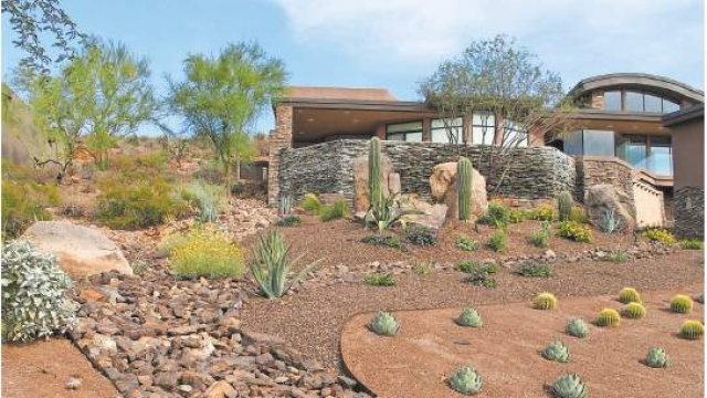 Reducing The Use Of Water Our Most Precious Desert Resource Doesn T Mean Your New Home S Front And Back Yards Have To Be A Dull Rock Rich