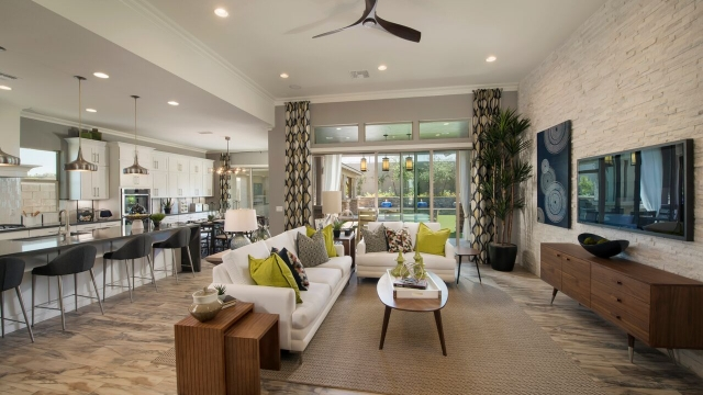 Meritage Homes Interior Paint Colors